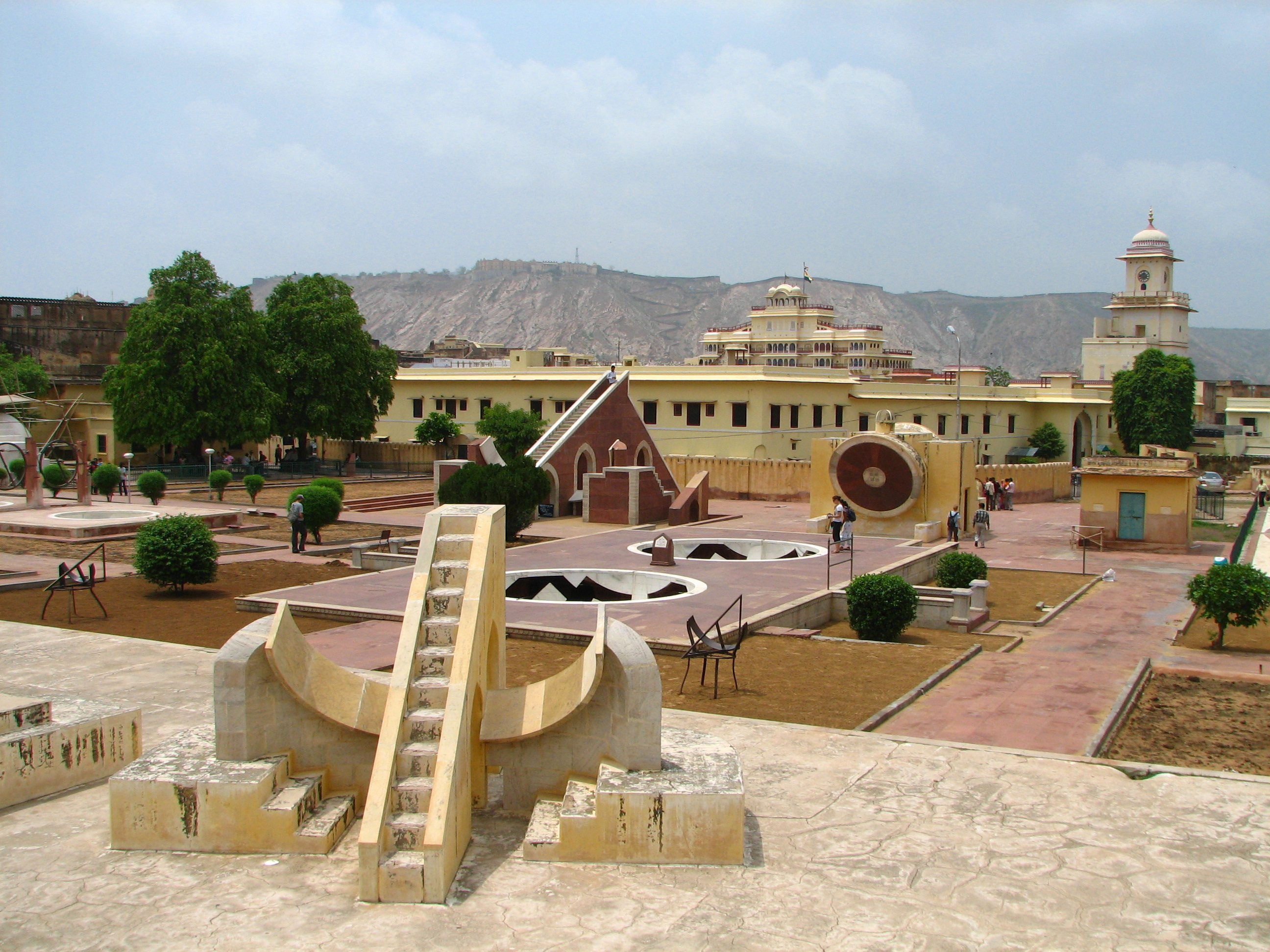 Jantar Mantar Observatory - top places to visit in Jaipur