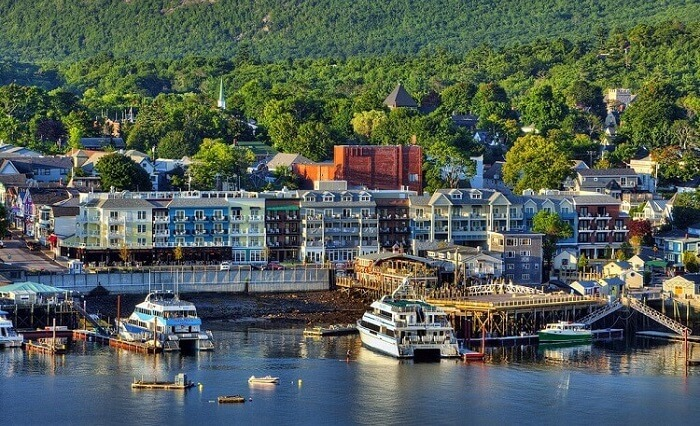 Bar Harbor, one of the best places to visit in Maine