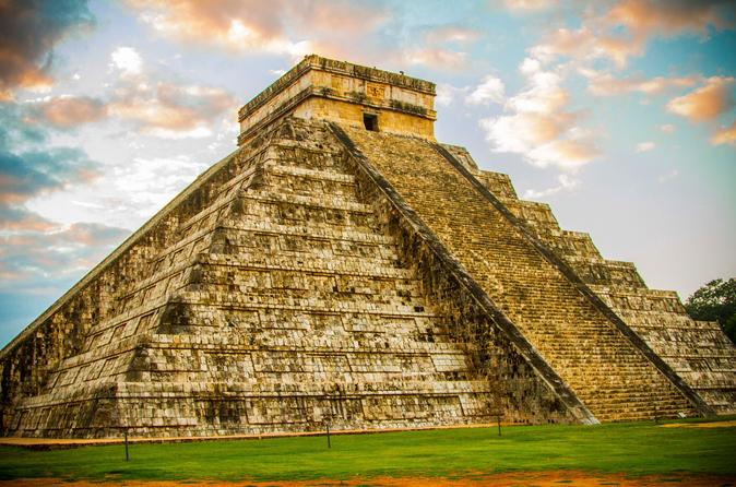 Chichen Itza in the Yucatan jungle