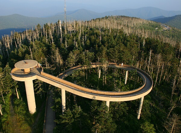 Clingmans Dome Smoky Mountains