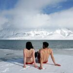 Couple at the Arctic
