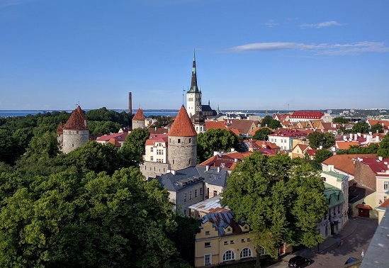 Tallinn, Estonia, one of the most unusual honeymoon destinations