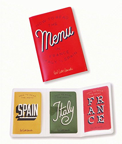 How to Read the Menu: France, Italy and Spain