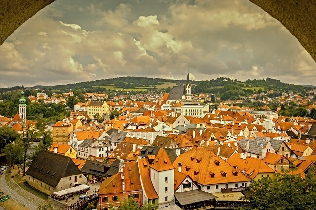 Český Krumlov, Czech Republic, one of the best cheap places to travel in Europe