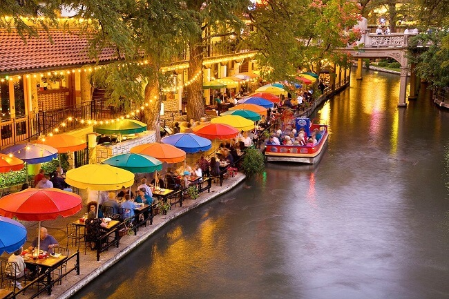 San Antonio, one of the best places to travel alone in the US