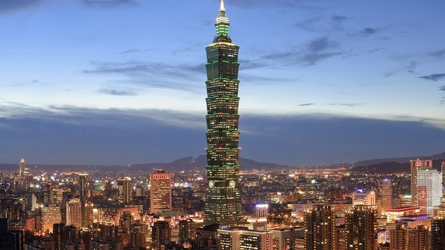 Taipei, Taiwan Night Picture