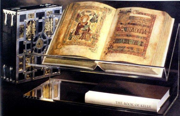 The Book of Kells 800 AD