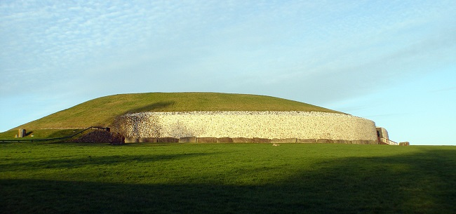 Newgrange Burial Ground near Dublin