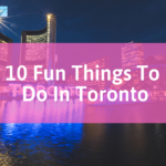 things to do in toronto: night scene in toronto, canada