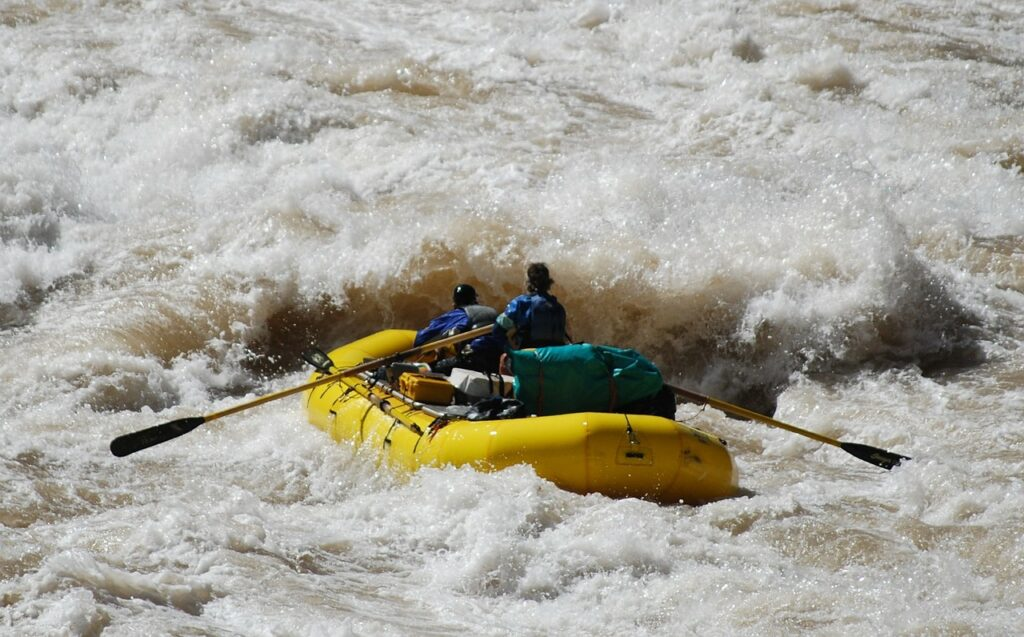 Grand Canyon Tourist Attractions: Colorado River Rafting