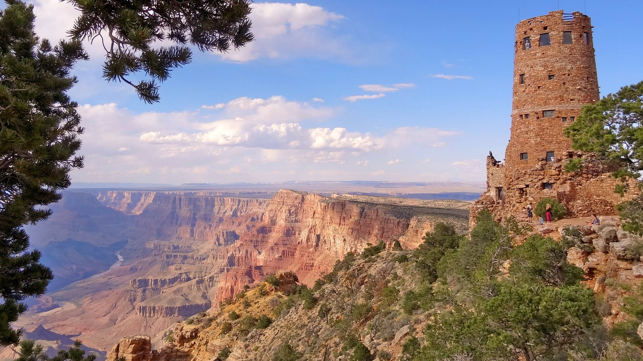 Grand Canyon Tourist Attractions: Amazing View