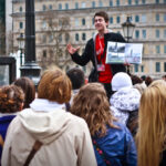 inventive tour guide in London