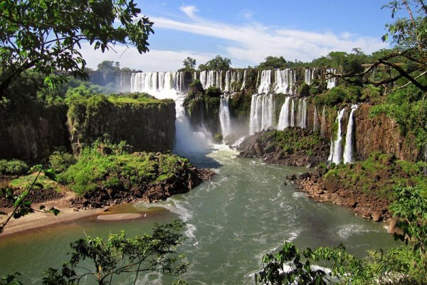 Guazu Falls Places To Visit In Argentina