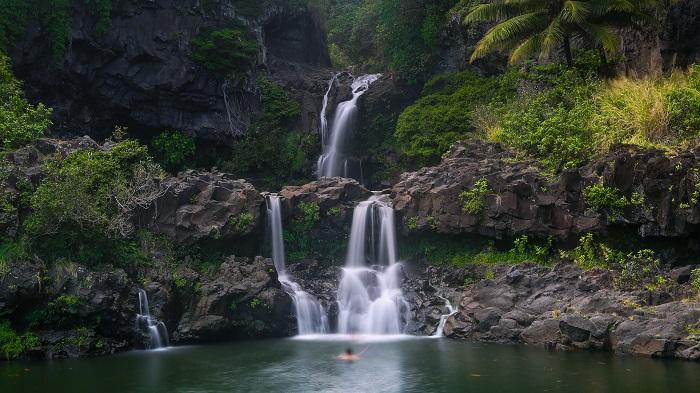'Ohe'o Gulch waterfall