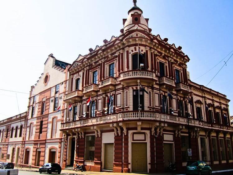 building in Asunción Paraguay