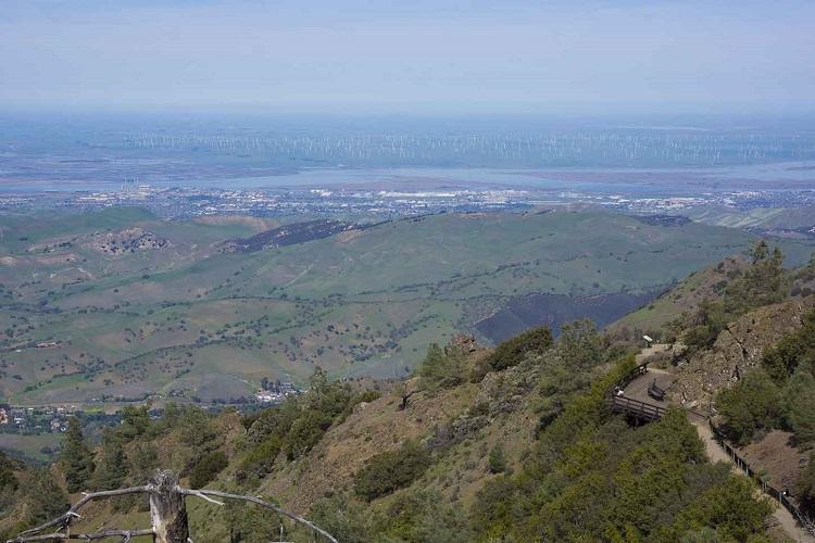 Mount Diablo trail, San Francisco