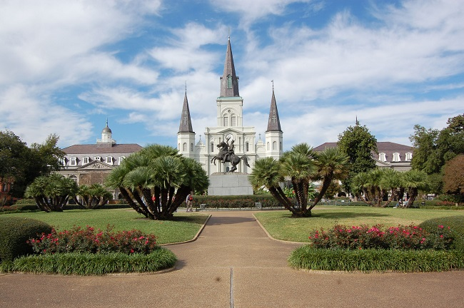 St Louis Cathedral in Jackson Square