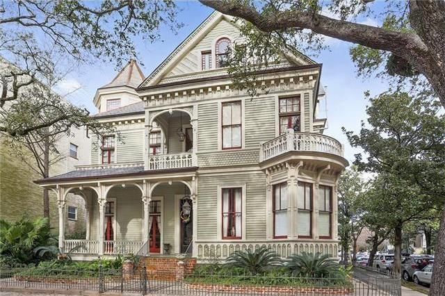 New Orleans house in the Garden District