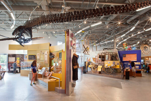 Inside Fort Collins Museum of Discovery
