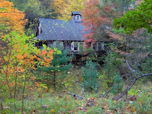 Cottage in Elkmont Ghost Town