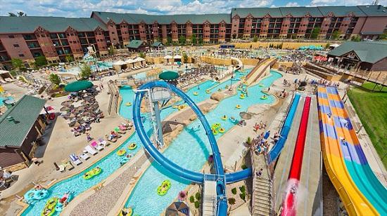 Wisconsin Dells water park