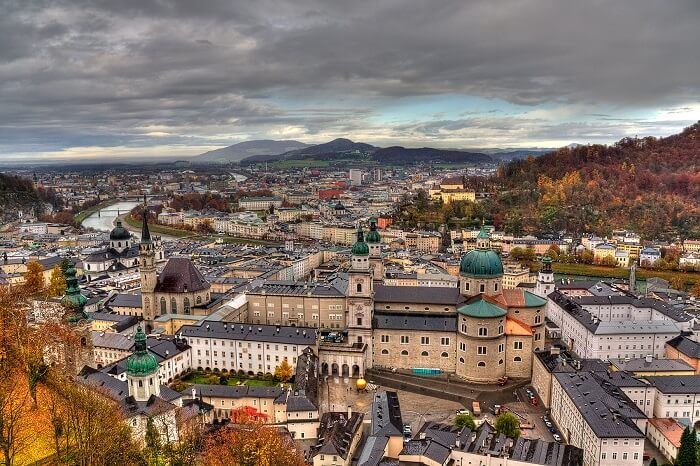 Salzburg, one of the best places to travel alone in Europe