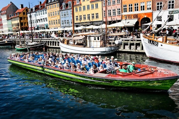 Canal Ride on the Nyhavn