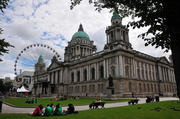 Belfast City Hall and Big Wheel