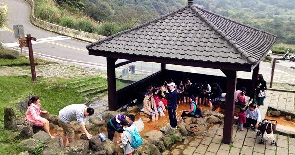 Lengshuikeng hot spring