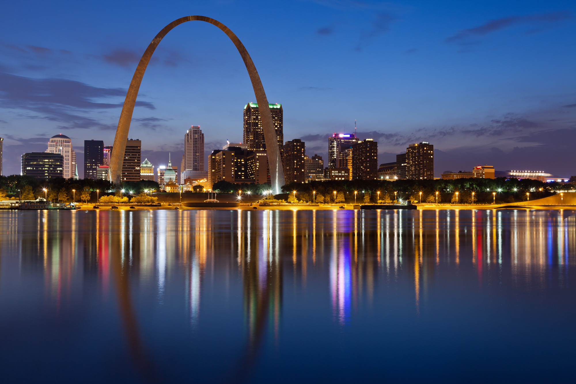gateway arch is one things to do in st louis