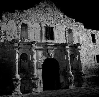 The Alamo Night Evening Sky - things to do in san antonio