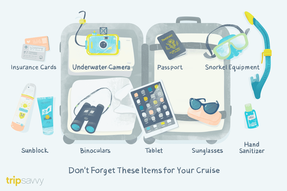 cruise packing list for vacation