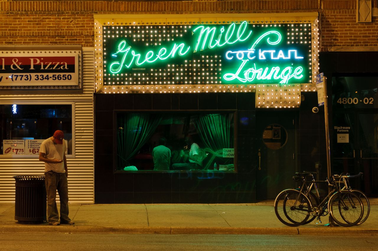 Green mill in Illinois