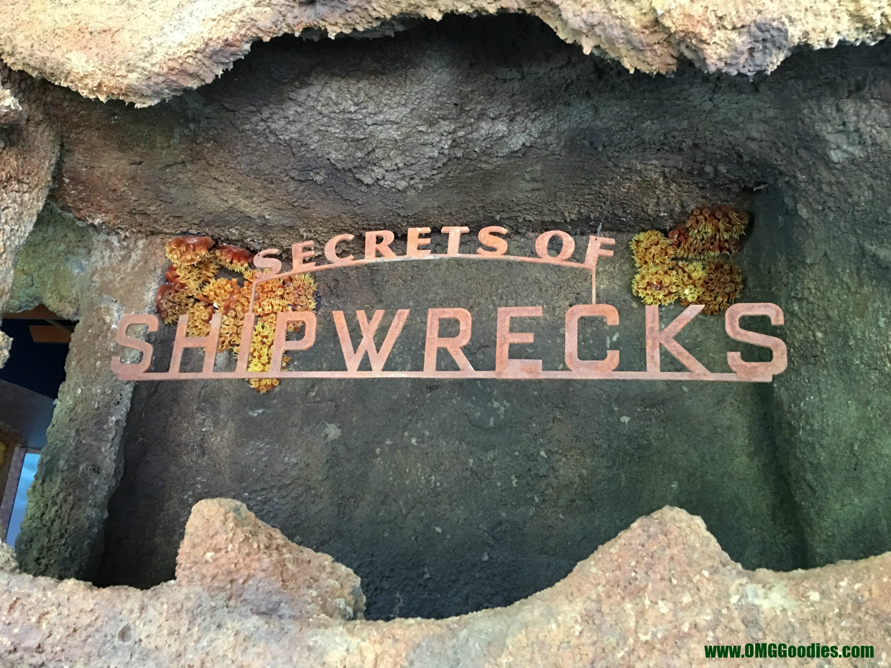 Shipwrecks exhibit