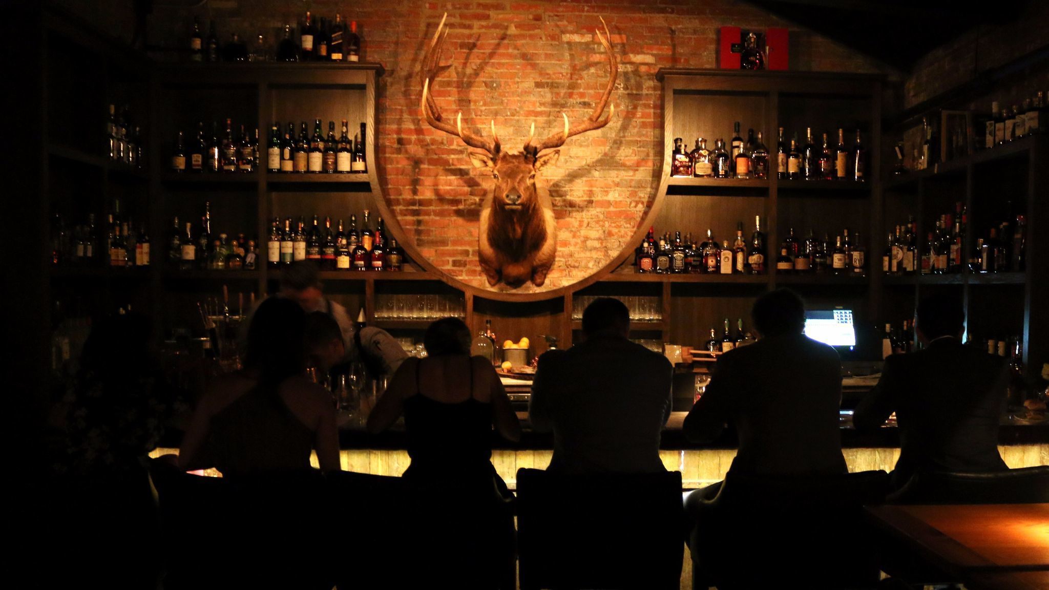 The elk room in Maryland
